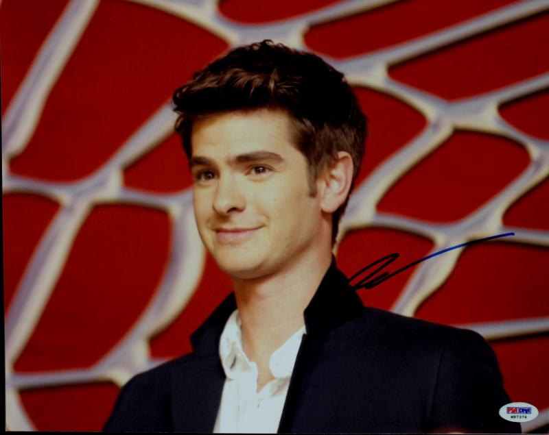Andrew Garfield Spiderman Signed Authentic 11X14 Photo PSA/DNA #M97374