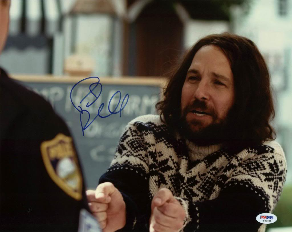 Paul Rudd Our Idiot Brother Signed Authentic 11X14 Photo PSA/DNA #S33681