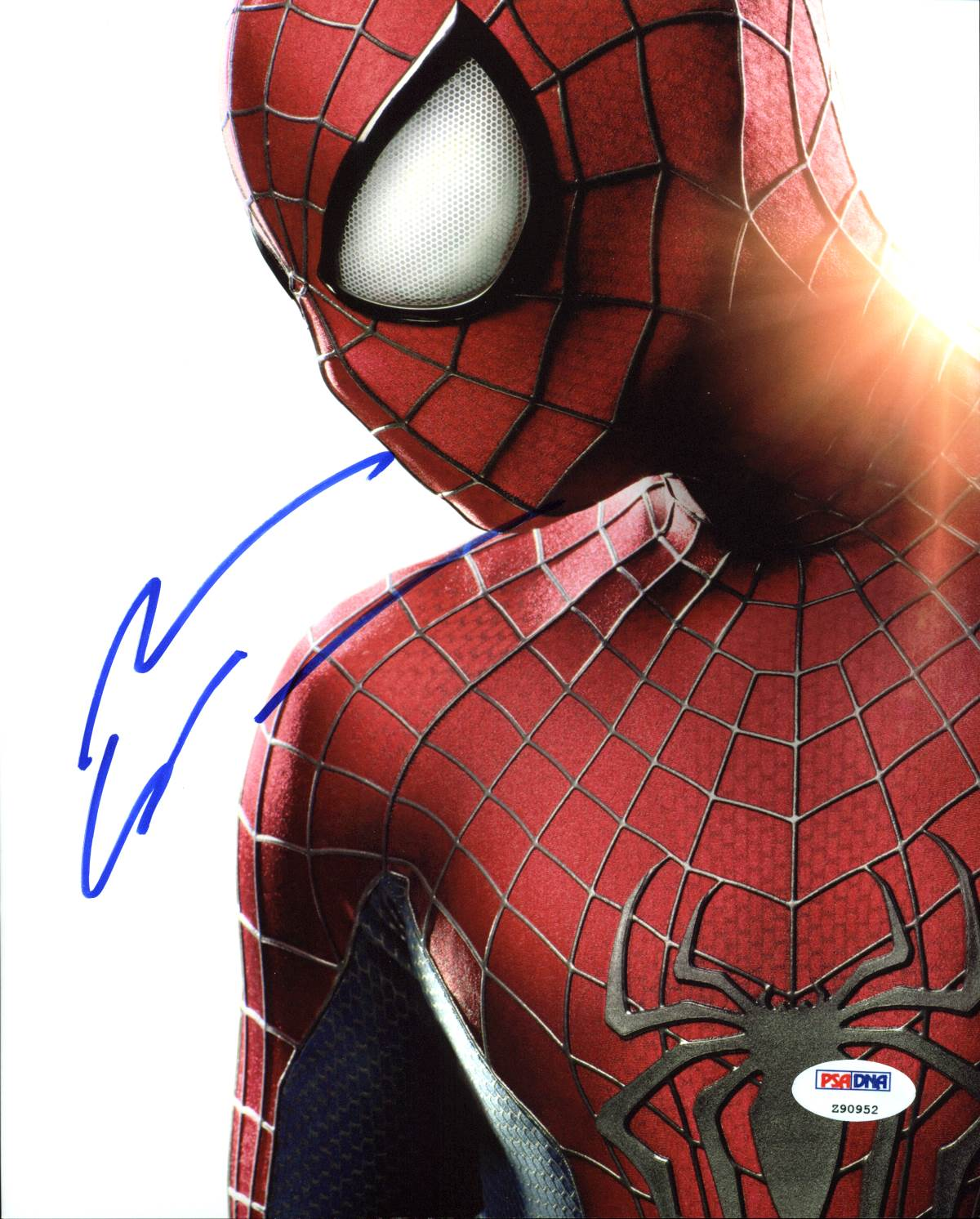 Andrew Garfield The Amazing Spiderman Autographed 8x10 Photo VIP-Z90952
