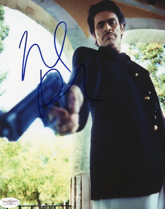 Willem Dafoe Once Upon A Time In Mexico Signed Authentic 8X10 Photo JSA #F71227