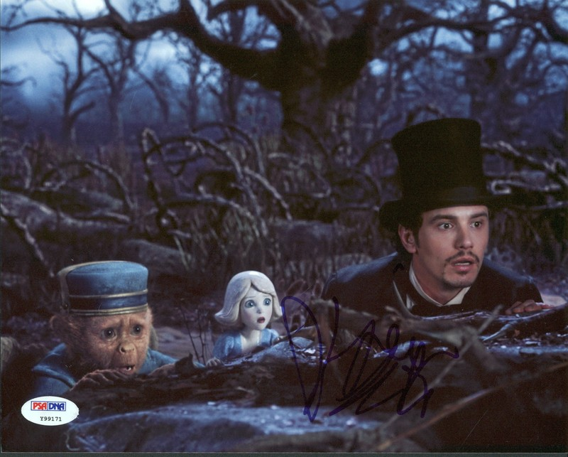James Franco Oz The Great And Powerful Autographed 8x10 Photo VIP-Y99171