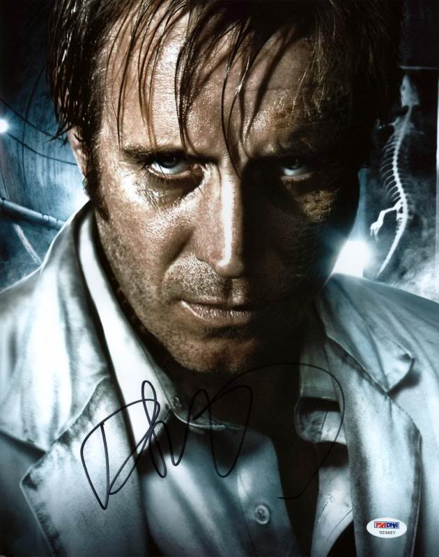 Rhys Ifans Amazing Spiderman Signed Authentic 11X14 Photo PSA/DNA #U23657