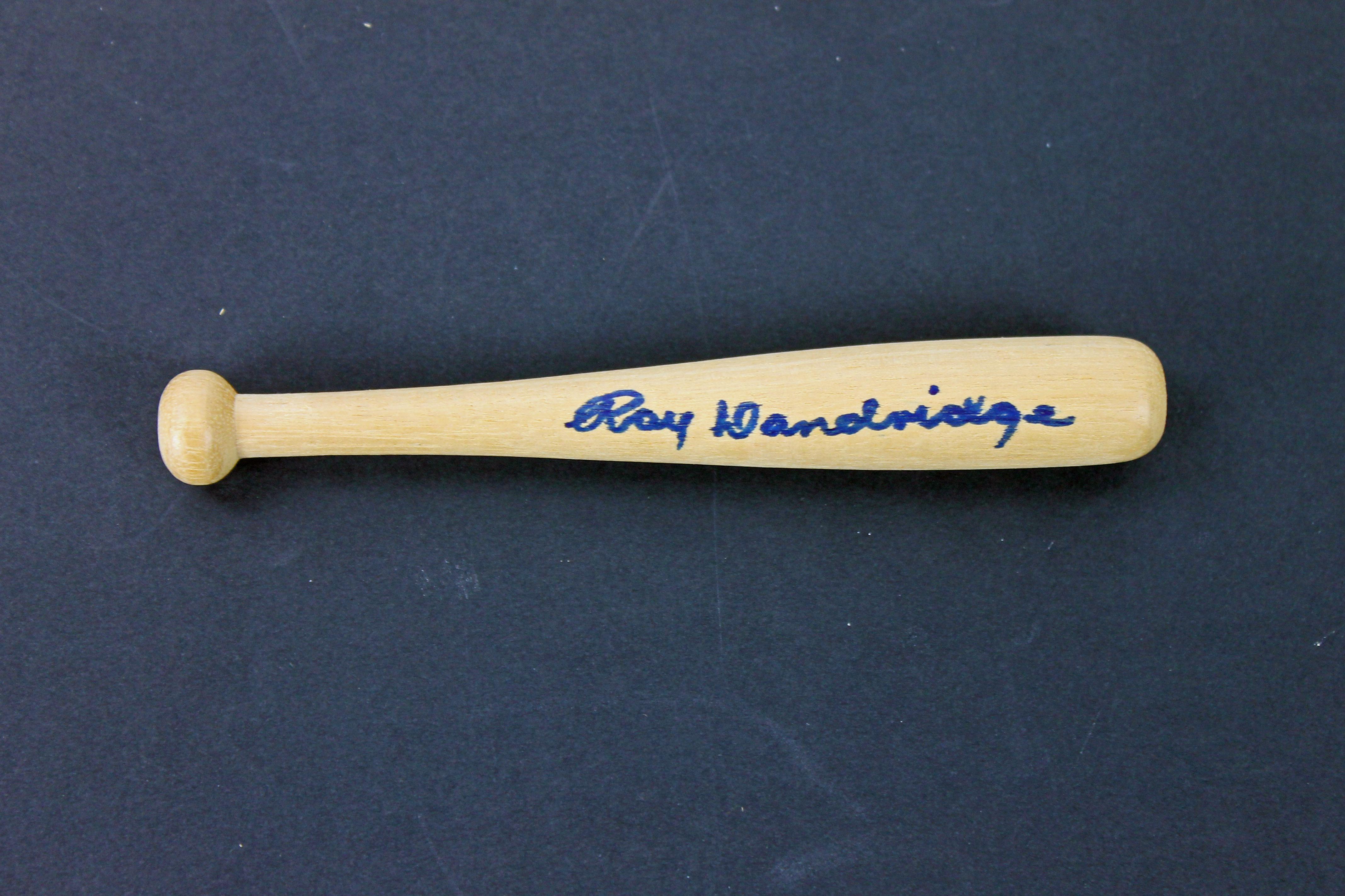 Ray Dandridge Authentic Signed 6 Inch Mini Baseball Bat PSA/DNA #AA43809