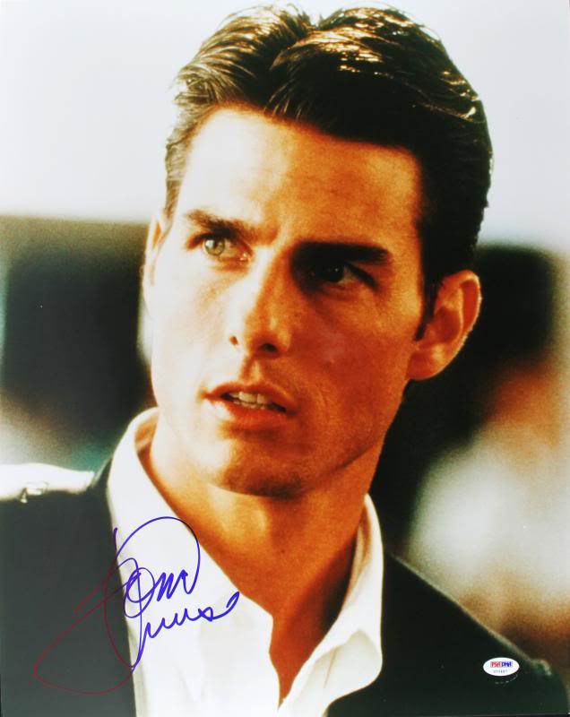 Tom Cruise Jerry Maguire Signed Authentic 16X20 Photo PSA/DNA #U70497
