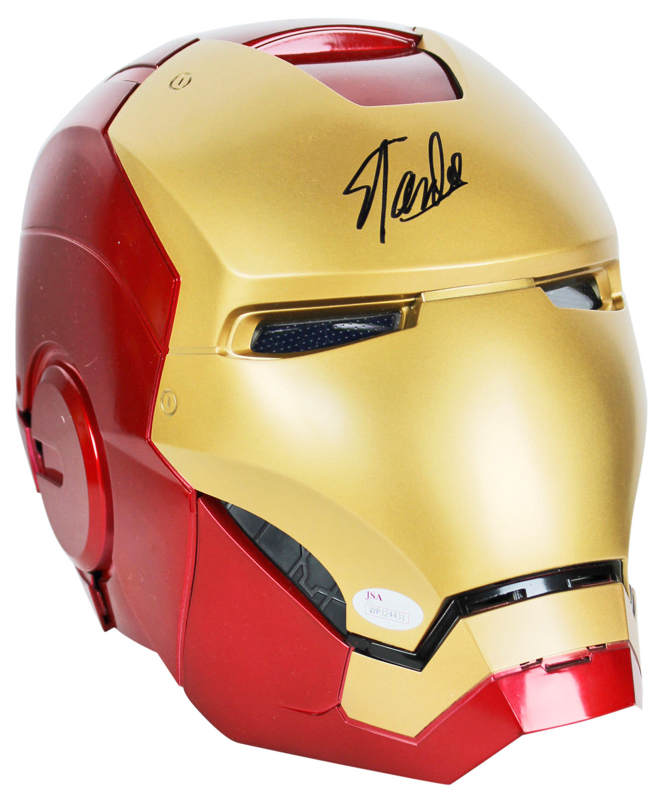 Stan Lee Signed Marvel Iron Man Legends Series Helmet w/ Box JSA Witness