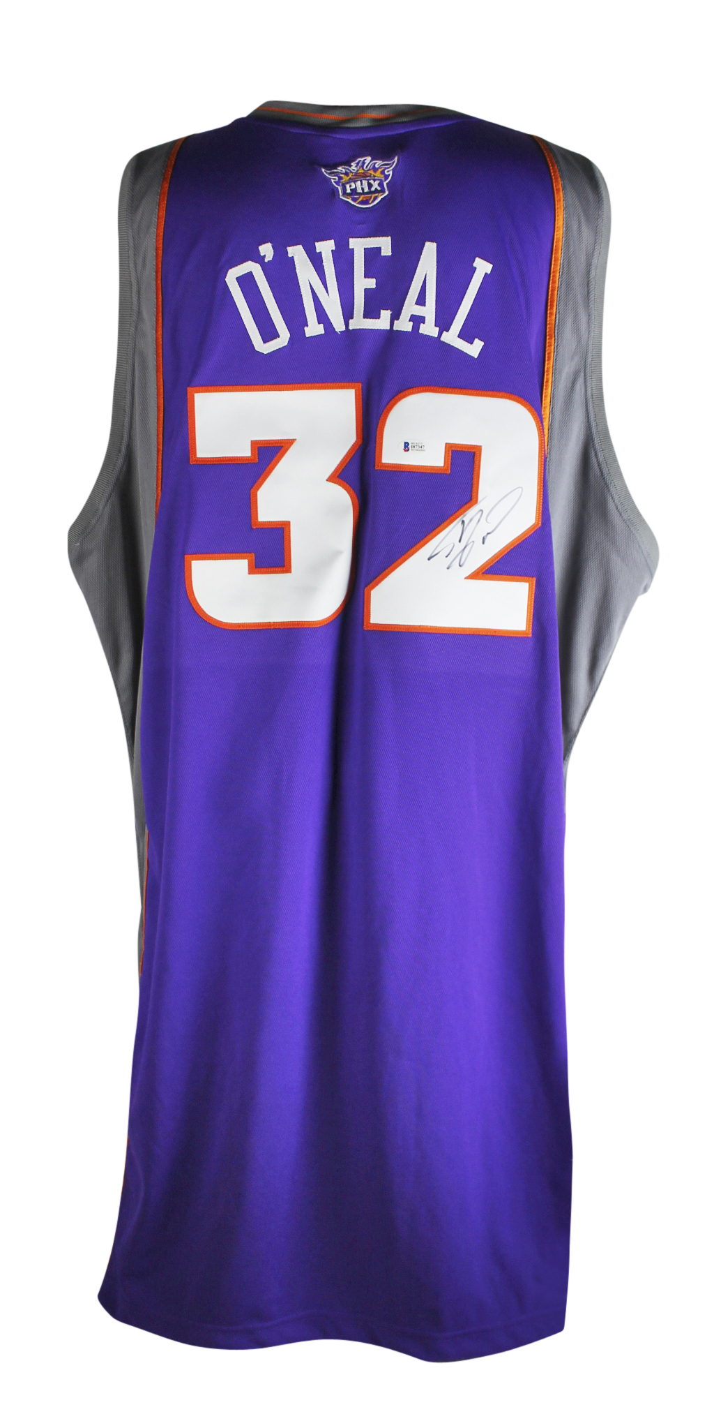 3cdd16505df Suns Shaquille O'Neal Signed 08-09 Game Used Adidas Size 60 +4 ...