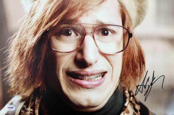 Andy Samberg Saturday Night Live Authentic Signed 12x18