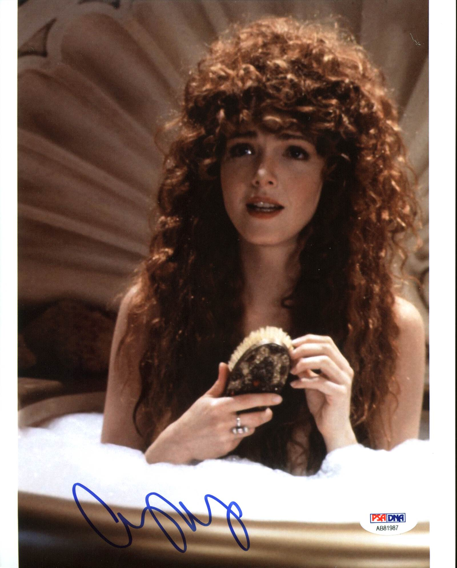 Amy Yasbeck details about amy yasbeck robin hood: men in tights authentic signed 8x10  photo psa #ab81987